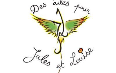 2020 – Nous soutenons l'association Des Ailes pour Jules et Louise